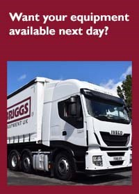 Short term hire free delivery new truck
